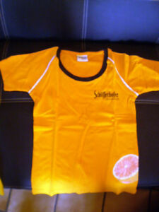 SCHOFFERHOFER-GRAPEFRUIT-Bier-Werbung-T-Shirt-in-Grose-S-aus-100-Baumwolle