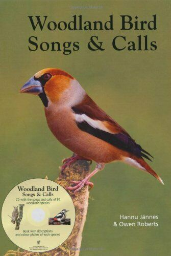 Book /& Audo CD by Owen Roberts Book The Fast Free Woodland Bird Songs /& Calls