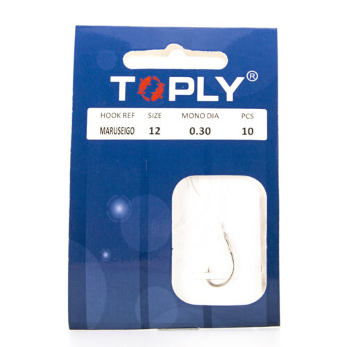 10pcs Fishing Hooks with Fishing Line High Carbon Steel Barbed Hooks Carp Tackle