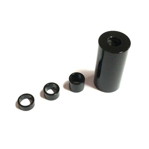 Noir M5 x 7 mm OD En Acier Inoxydable Entretoises-Impasse STAND OFF Colliers Spacer