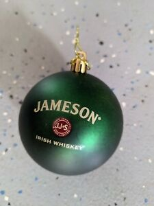 Jameson Irish Whiskey Christmas Tree Ornament Ball Decoration (New + Authentic)