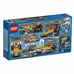 LEGO-City-Great-Vehicles-Dragster-Transporter-60151-Building-Kit-LEGO-Korea