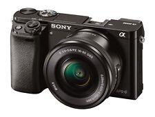 Fotocamera Digitale Mirrorless Sony Alpha a6000 + 16-50mm/3.5-5.6 OSS (BL)