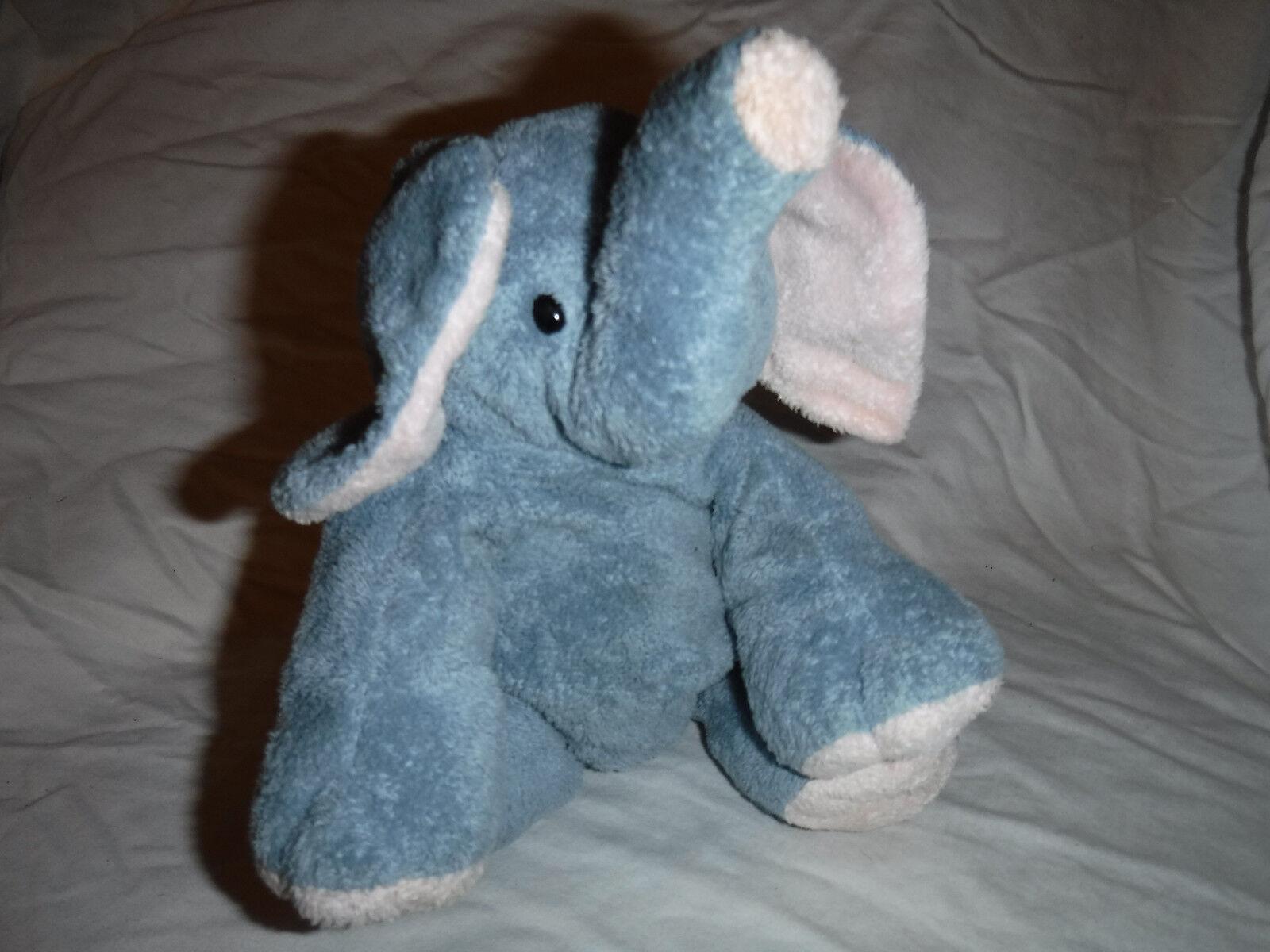 2002 Pluffies Elephant 12  Plush Soft Toy Stuffed Animal