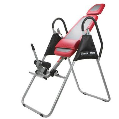 Inversion Table Pro Deluxe Fitness Chiropractic Tabl