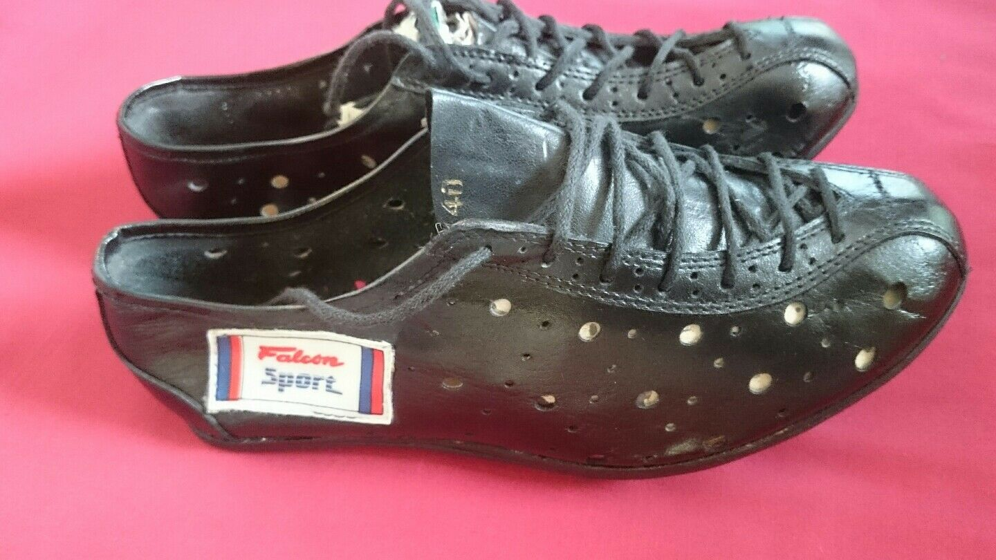 Vintage Falcon Sport Leather Cycling schuhe (40) EROICA
