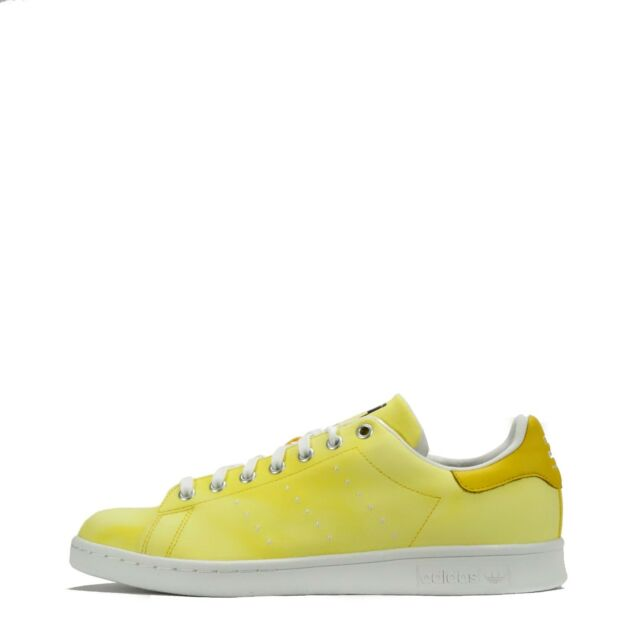 huge selection of 1a6f3 b9edc adidas Originals Pharrell Williams HU Holi Stan Smith Mens Trainers Yellow