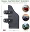 Bullnose Rudder Clamp On Rudder for 24-55 Thrust Trolling Motors or Pontoons