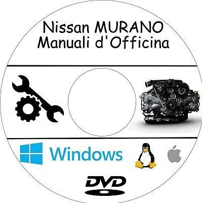 MANUALE OFFICINA NISSAN MURANO Z51 WORKSHOP MANUAL SERVICE