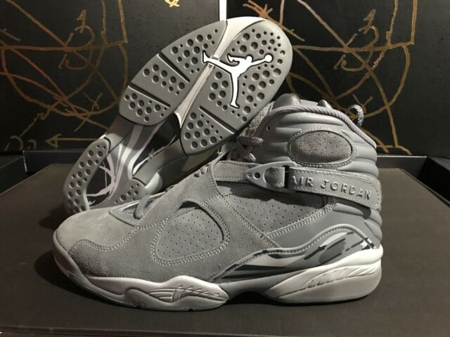 62c7ef623e58c4 Frequently bought together. Nike Air Jordan 8 Retro  Limited  Men s Size 12 Cool  Grey Wolf Gray 305381
