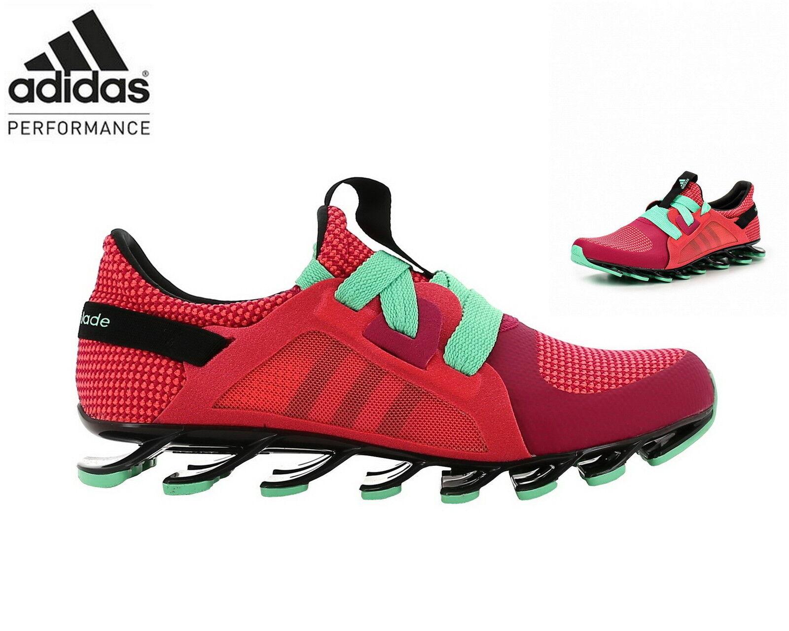 adidas Springblade Nanaya Damen Laufschuhe Training Sneaker AQ5247 bold ROT/blac