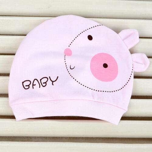 Toddler Boy Girls Warm Winter Woolen Beanie Hat Newborn Baby Ears Plush Cap New