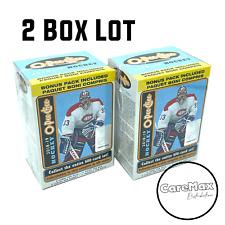 2018-19 Upper Deck O-Pee-Chee Hockey Blaster (2 Box Lot)