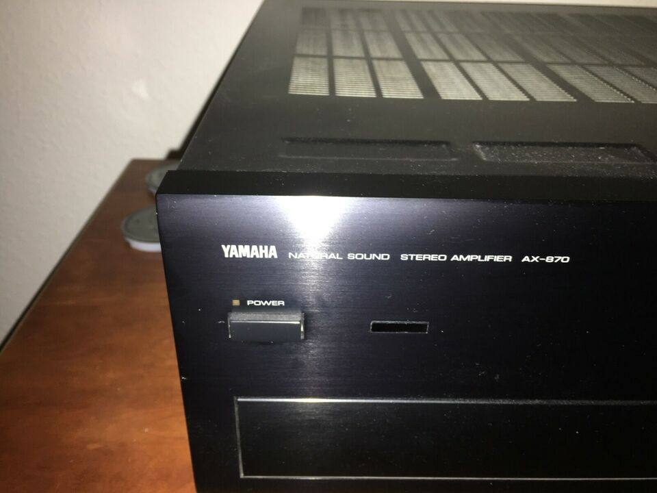 Forforstærker, Yamaha, AX870