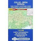 Collio 054 GPS Brda - Gorizia: TAB.054: 2011 by Tabacco (Sheet map, folded, 2010)