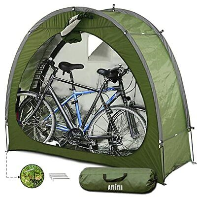 Aflifli Sheds Outdoor Storage For 2, Outdoor Storage For Bikes