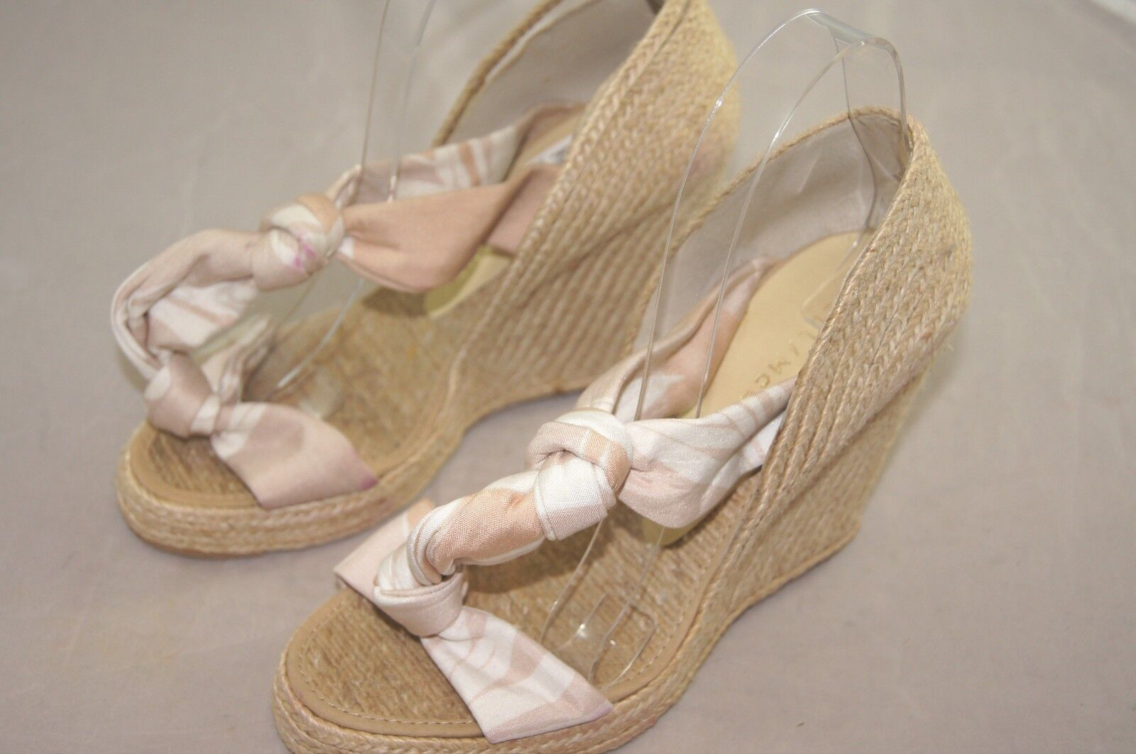 Stella McCartney Damenschuhe Schuhes Wedge Sandale Euro 38 C Made in Spain 395 h15