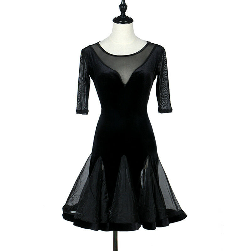 NEU Latino salsa Kleid TanzKleid LatinaKleid Latein Kleid Turnierkleid FM274
