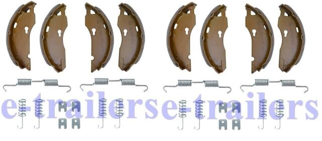Trailer Caravan Brake Shoe Axle Kit ALKO 1637 1635 1636 1636G Style 160 x 35