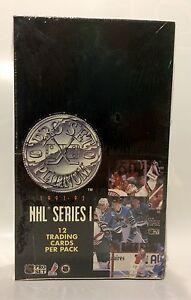 1991-Pro-Set-Platinum-series-1-NHL-Hockey-Card-Box-36-packs-Factory-Sealed