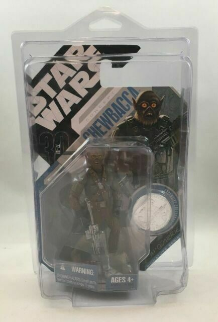 STAR WARS 30TH CHEWBACCA MCQUARRIE CONCEPT MOC  FREE SHIPPING!!