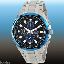 Casio Edifice Men's Stainless Steel 100M Chronograph Tachymeter Watch EF539D-1A2
