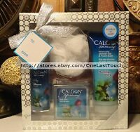 Calgon 4pc Gift Set Morning Glory Body Mist+shower Gel/foam+bath Salts+pouf 1/3