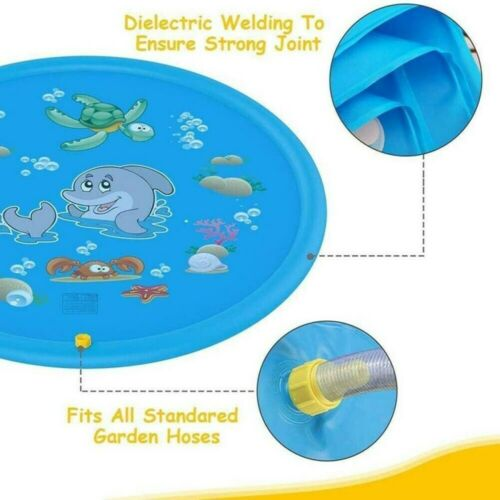 Outdoor Inflatable Sprinkler Pad✅Sprinkle and Splash Water Play Mat Toy for Kids