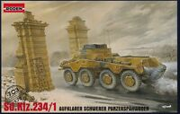 RODEN 703 1:72  Schwerer Panzerspähwagen Sd.Kfz.234/1