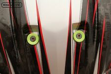GREEN Recessed Ball Stud Washer Set (6) For Lexan Body Traxxas X-MAXX