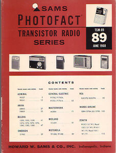 SAMS-Photofact-Transistor-Radio-Series-Repair-Manual-TSM-89