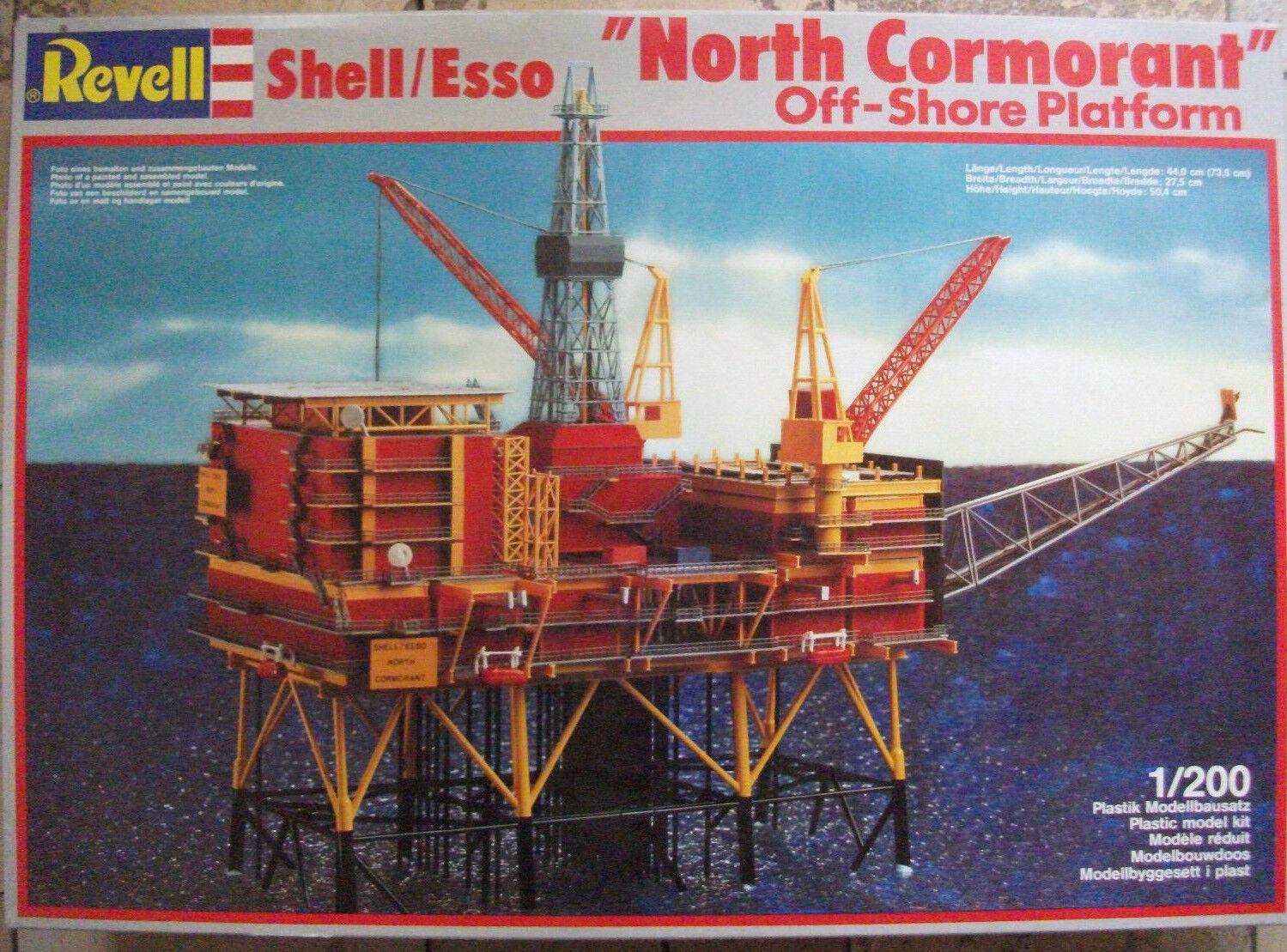 Revell 8803 1 200 SHELL ESSO OFF-SHORE PLATFORM PLATFORM PLATFORM NORTH CORMORANT Rarität    Komfort  433027