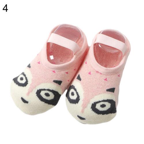 Baby Cartoon Animal Toddler Floor Socks Non-slip Cotton Socks Slipper Shoes Well