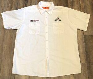 80s Button Front Shirt, Red Kap Mechanic Shirt 80s Red Kap Long Sleeve Mechanic Work Shirt Navy Blue Mens 2XL XXL 80s Work Shirt