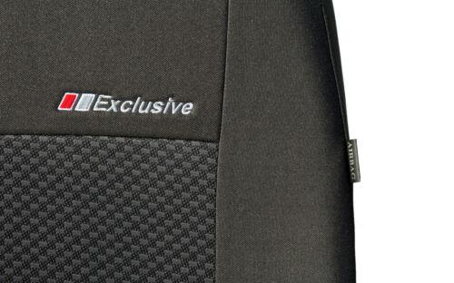 Bus DCT Exclusive Universal Sitzbezüge 1+2 Schonbezüge für Peugeot Boxer