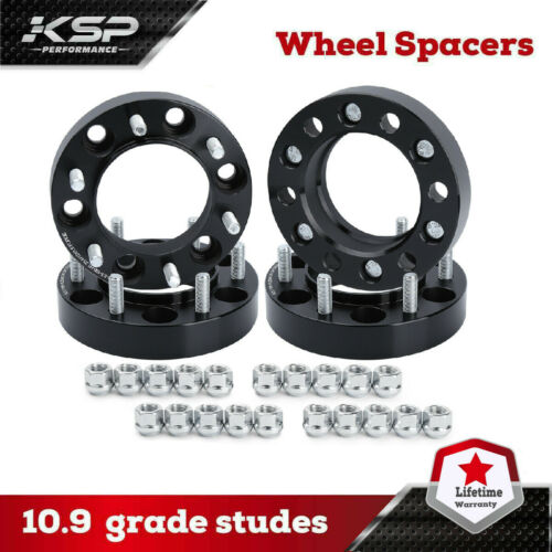 "1.5/"" Hubcentric Wheel Spacers 5x5.5 Adapters 9//16 Studs For Dodge Ram 1500 4"