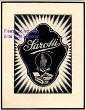 Sarotti Schokolade Reklame 1921 Papagei Kakadu Werbung Praline +