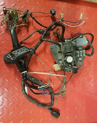 1975 Honda cb550f complete wiring harness   eBay