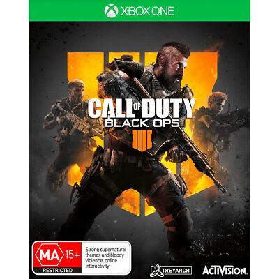 Call of Duty Black Ops 4 Xbox One Game COD NEW