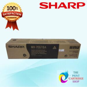 New-amp-Original-Sharp-MX-70GTBA-Black-Toner-Cartridge-MX-5500N-MX-6200N-MX-7000