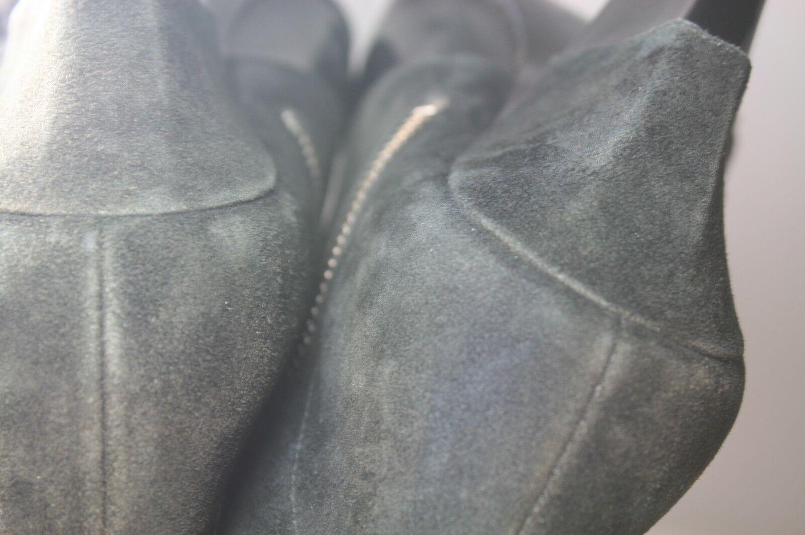 SIGERSON MORRISON SHOES FACE TWO TONE TONE TONE BOOTIES ZIP ANKLE BOOTS BLACK 8.5  495 0c0815