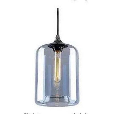 Modern Glass Pendant Ceiling Lighting Fixture Hanging Chandelier Lamp 1-Light