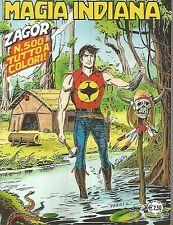 fumetto Zenith Gigante N° 551 - Zagor N° 500 Tutto a Colori - NUOVO