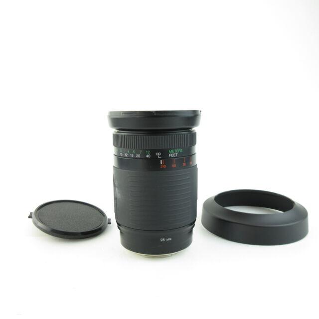 Für Minolta AF Exakta 28-210mm 1:3.5-5.6 MC Objektiv lens + hood