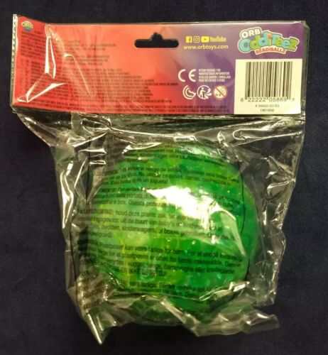 NEW ORB ODDITEEZ BEADiBALLZ SQUEEZE /& SPLAT Squishy Slime Filled Ball NWT