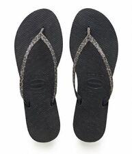e0d54a84cb6be Havaianas You Animals Print Black Sand Grey Women Flip Flops Sandals All  Sizes