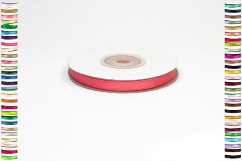 25 metres de ruban 6mm en satin  deco mariage couture scrap soit 0.06€//m
