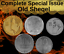 Israel-Complete-Set-Special-Issue-Hanukkah-amp-Faces-Lot-of-5-Old-Sheqel-Coins thumbnail 2