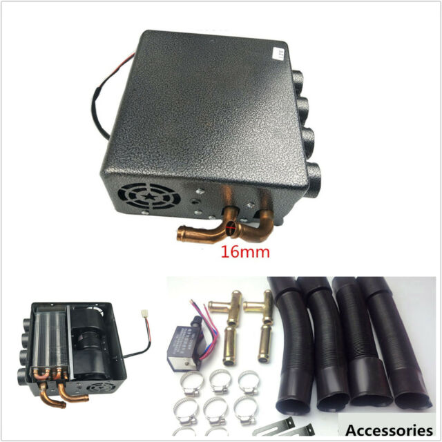 Parts & Accessories 12v Universal Underdash Compact Heater 12pcs Pure Copper Tube Speed Switch Kit