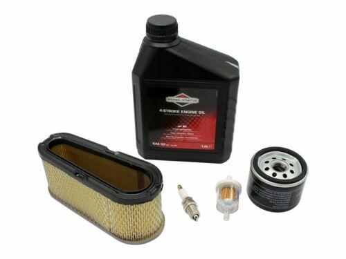 Wartungskit mit Luftfilter Öl Zündkerze passend Briggs/&Stratton 28S777 Motor